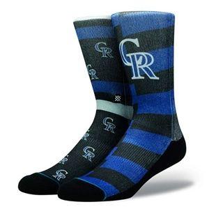 STANCE MLB Baseball Colorado Rockies Socks NEW
